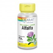 Solaray Organically Grown Alfalfa Leaf Vcaps 100
