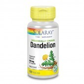 Solaray Organically Grown Dandelion Root Vcaps 100