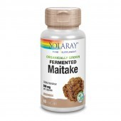 Solaray Organically Grown Fermented Maitake Mushroom Vcaps 60