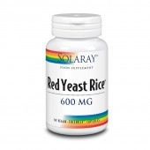 Solaray Red Yeast Rice 600mg Capsules 30