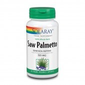 Solaray Saw Palmetto 550mg Capsules 60