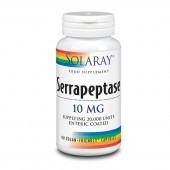 Solaray Serrapeptase 10mg Capsules 90