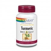 Solaray Turmeric One Daily 600mg Capsules 30