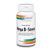 Solaray Two-Stage Mega B-Stress Capsules 60