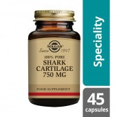 Solgar 100% Pure Shark Cartilage 750mg Caps 45
