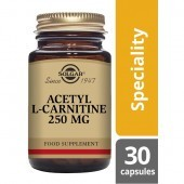 Solgar Acetyl-L-Carnitine 250mg 30 Vegicaps