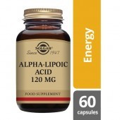 Solgar Alpha Lipoic Acid 120mg Vegicaps 60