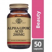 Solgar Alpha Lipoic Acid 200mg Vegicaps 50