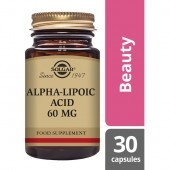 Solgar Alpha Lipoic Acid 60mg Vegicaps 30