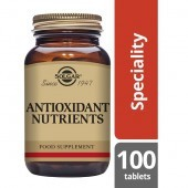 Solgar Antioxidant Nutrient Tablets 100