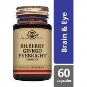 Solgar Bilberry Ginkgo Eyebright Complex Vegicaps 60