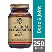 Solgar Calcium Magnesium plus Boron 250 Tablets