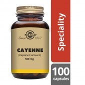 Solgar Cayenne 520mg Vegicaps 100