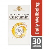 Solgar Full Spectrum Curcumin Softgels 30