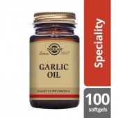 Solgar Garlic Oil Reduced Odour Softgels 100