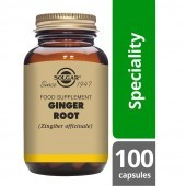 Solgar Ginger Root 520mg Vegicaps 100