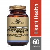 Solgar Gold Specifics Cardiovascular Support Tabs 60