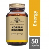 Solgar Korean Ginseng 520mg Vegicaps 50