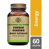 Solgar Korean Ginseng Root Extract Vegicaps 60