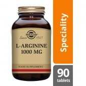 Solgar L-Arginine 1000mg Tablets 90