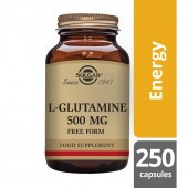 Solgar L-Glutamine 500mg Vegicaps 250