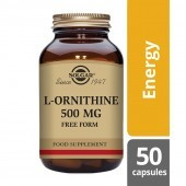 Solgar L-Ornithine 500mg 50 Vegicaps