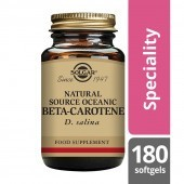 Solgar Natural Source Oceanic Beta-Carotene 7mg Softgels 180