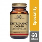 Solgar Nutri-Nano CoQ-10 with Alpha Lipoic Acid Softgels 60