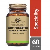 Solgar Saw Palmetto Berry Extract Vegicaps 60