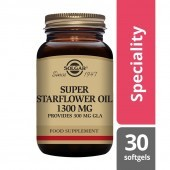 Solgar Super Starflower Oil 1300mg Softgels 30