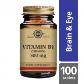 Solgar Vitamin B1 500mg Tablets 100