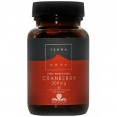 Terranova Cranberry 300mg Vegicaps 50