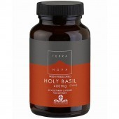 Terranova Holy Basil 400mg Vegicaps 50