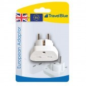 Travel Blue European Travel Plug Adaptor