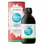 Viridian 100% Organic Liquid Iron 200ml