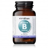 Viridian Co-Enzyme B-Complex Vegetarian Capsules 30
