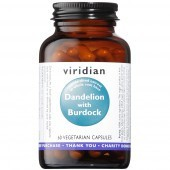 Viridian Dandelion with Burdock Extract Veg Caps 60