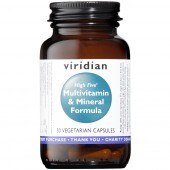 Viridian HIGH FIVE Multivitamin & Mineral Formula Veg Caps 30