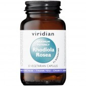 Viridian MAX POTENCY Rhodiola Rosea Root Extract Veg Caps 30