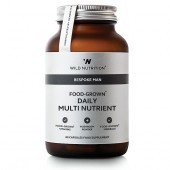 Wild Nutrition Bespoke Man Food-Grown Daily Multi Nutrient Vegicaps 60