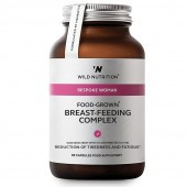 Wild Nutrition Food-Grown Breast Feeding Complex Capsules 90