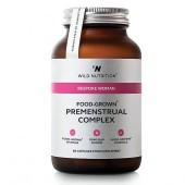 Wild Nutrition Food-Grown Premenstrual Complex Vegicaps 60