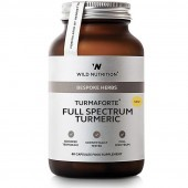 Wild Nutrition TurmaForte Full Spectrum Turmeric Caps 60