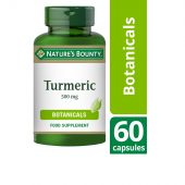 Nature's Bounty Turmeric 500mg Capsules 60