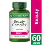 Nature's Bounty Beauty Complex with Biotin Caplets 60