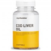 Myvitamins Cod Liver Oil Softgels 180