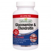 Nature's Aid Glucosamine Sulphate 500mg & Chondroitin 400mg Tablets 135
