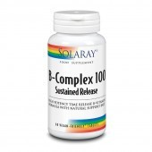 Solaray B-Complex 100 Sustained Release Tablets 60
