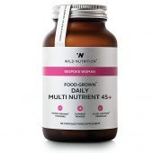 Wild Nutrition Bespoke Woman 45+ Food-Grown Multi Nutrient Vegicaps 60