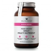 Wild Nutrition Bespoke Woman Food-Grown Daily Multi Nutrient Vegicaps 60